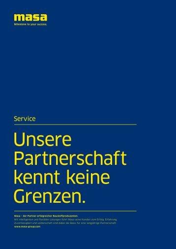 Servicebroschüre - Masa