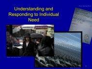 Understanding and responding to individual need - Sense Scotland