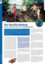 Der RurUfer-Radweg
