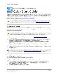 tekstar quick start guide - j m  stewart signs