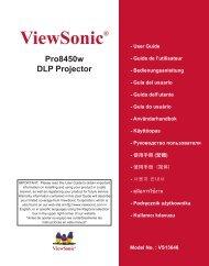 ViewSonic®