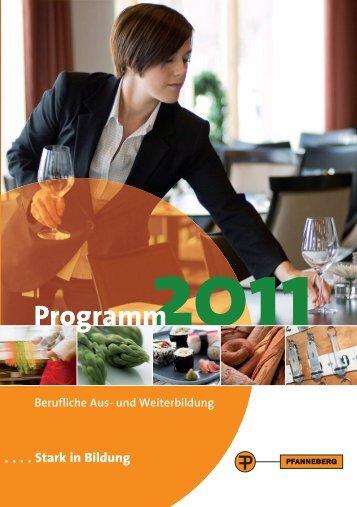 2011 Programm - der-junge-koch.de