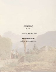Gemälde 15. bis 20. Jh., Teil 3 - Galerie Fischer Auktionen AG