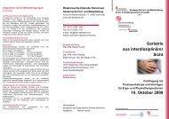 Geriatrie aus interdisziplinärer Sicht 10. Oktober ... - Ddh-Akademie