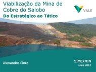 Viabilização da Mina de Cobre do Salobo, Carajás, Pará - ADIMB