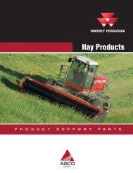 Massey Ferguson Hay Products Catalog - AGCO Parts