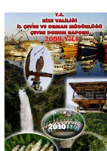 2009 YILI 2010 - İl Çevre Durum Raporları