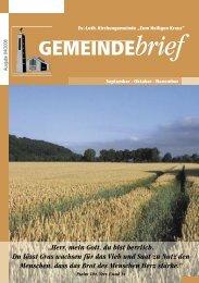 Gemeindebrief Ausgabe 4/2008 - Ev.-Luth. Kirchengemeinde .Zum ...