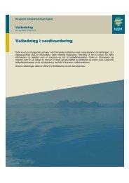 Veiledning i verdivurdering - NSM