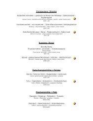 Speisekarte (PDF) - Restaurants Hannover