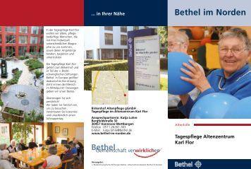 Tagespflege Karl Flor - Bethel im Norden