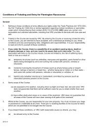 Conditions of Ticketing and Entry for Flemington ... - Melbourne Cup