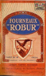 CAP ROBUR, fourneaux, cuisinières, chauffage; 1924 - Ultimheat