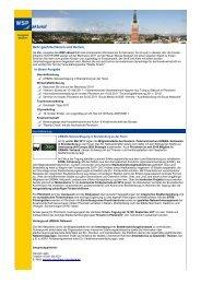 WSP aktuell, Ausgabe Mai 2011 - Wirtschaft und Stadtmarketing ...