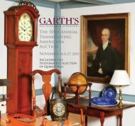 The 50th Annual Thanksgiving Americana Auction - Garth's Auctions ...