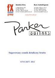 Parker Guitars - FX-Music Group