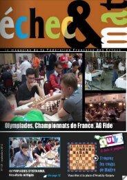 échecs & mat 121 - Fédération Française des Échecs