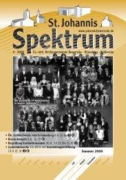 4 (Heft Jul. - Sep. 2009) - St. Johannis Bemerode