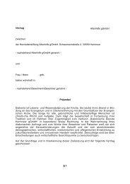 Heimvertrag - Henriettenstiftung Altenhilfe gGmbH