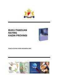 BUKU PANDUAN RATING KADIN PROVINSI - Kadin Indonesia