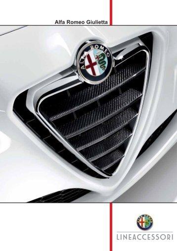 Katalog příslušenství - Alfa Romeo