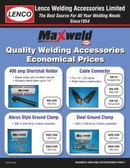 Download PDF - Lenco Welding Accessories Ltd.