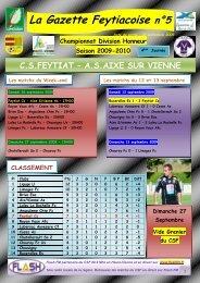 La Gazette Feytiacoise n°5 - Footeo