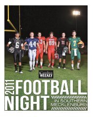 Football Night iN southerN meckleNburg - Carolina Weekly ...