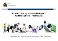 lysark - Utdanningsetaten