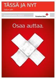 Tässä ja Nyt 2-2012 - RedNet - Punainen Risti