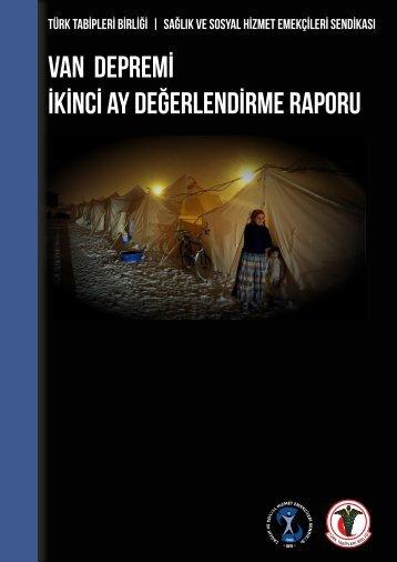 VAN- ERCİŞ Depremi 7 - Türk Nöroloji Derneği