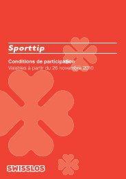 Sporttip - Swisslos