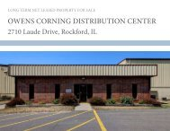 OWENS CORNING DISTRIBUTION CENTER - Transwestern