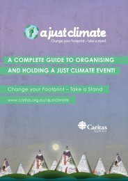 A Just Climate Action Guide - Caritas Australia