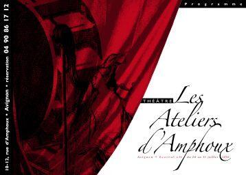 • A vignon • - Théâtre Les Ateliers d'Amphoux