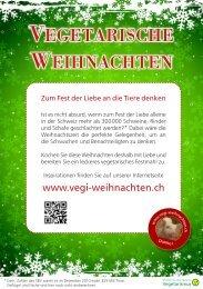 VEGETARISCHE WEIHNACHTEN - Vegi-Weihnachten