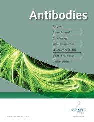 Antibodies from AnaSpec - Anawa