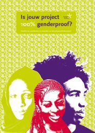 Is jouw project 100% genderproof?