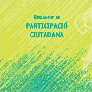 Regidoria de participació ciutadana