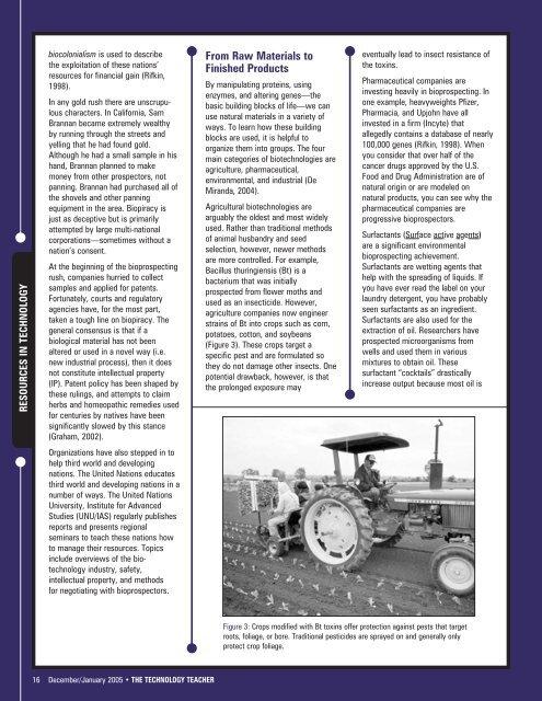 December/January 2005 - International Technology and ...