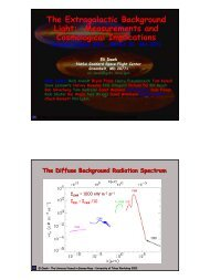 The Extragalactic Background Light: Measurements and ...