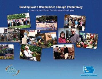 County Endowment Fund Program - Iowa Gaming Association