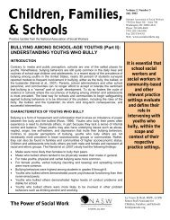 Bullying Among School-Age Youths. Part II Understanding Youths