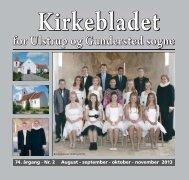 Kirkebladet for aug. - nov. 2013 - Hornum og Omegn