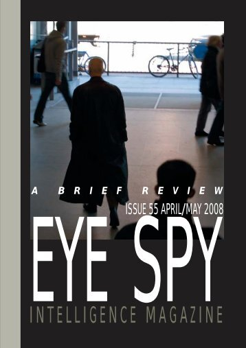 contents 55 - Eye Spy Intelligence Magazine