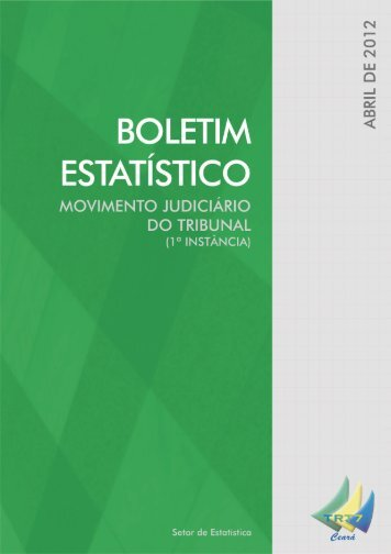 Boletim Estatístico 04/2012