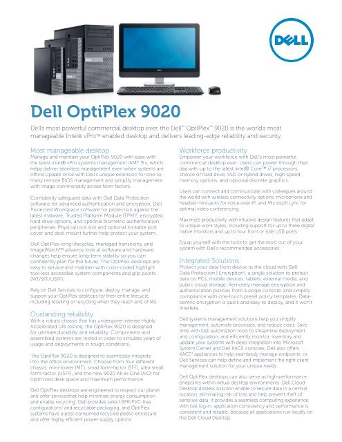 Dell Optiplex 9010 Vs 9020