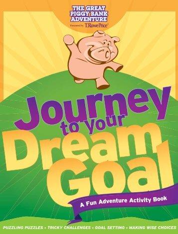 A Fun Adventure Activity Book - The Great Piggy Bank Adventure