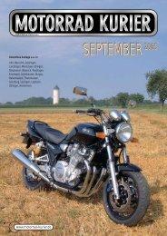 SEPTEMBER2005 - Motorrad-Kurier