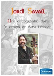 Jordi Savall - Médiathèques de Colombes